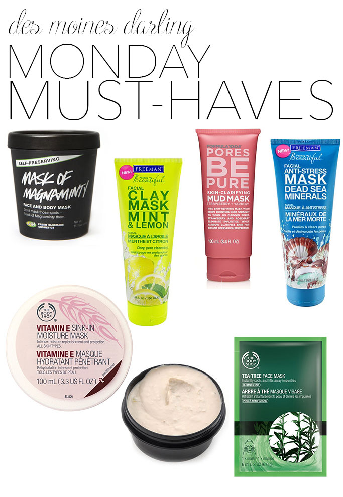 monday_must_haves_face_masks